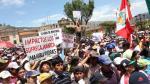 Radicales insisten en paro, pese a suspensión de Minas Conga - Noticias de eletrobras