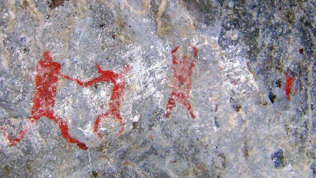 PINTURA PREHISTÓRICA. Arte confirma el grado de desarrollo de los antiguos peruanos. (Difusión)