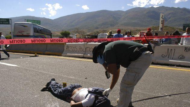 México: unas 11,890 personas fueron asesinadas en 2011
