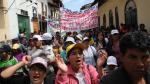 Gremios alistan nuevas protestas en Cajamarca - Noticias de luis thais