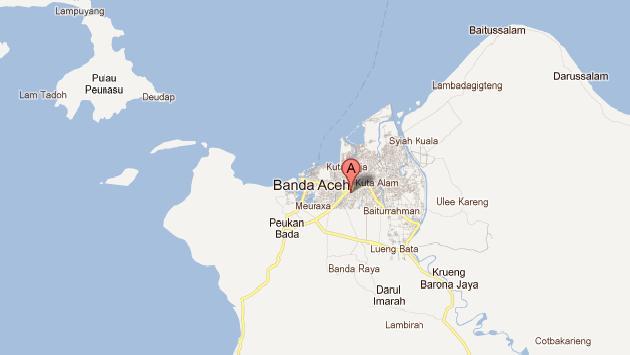 Epicentro se ubicó a una profundidad de 29 kilómetros. (Google Maps)