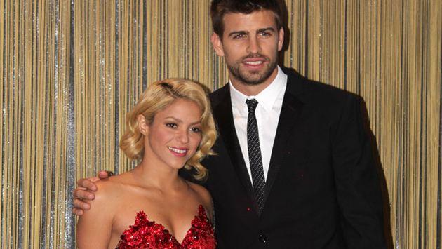 La pareja estuvo muy cariñosa en la ceremonia de entrega del Balón de Oro. (Internet)