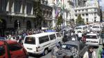 Bolivia: paro de transporte en La Paz - Noticias de paro de policías en bolivia