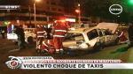 Miraflores: Tres heridos en accidente - Noticias de claudia ulloa