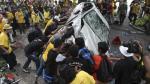 Malasia: Violencia en marcha para exigir reforma electoral - Noticias de anwar ibrahim