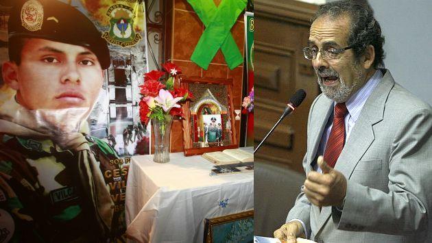 Diez Canseco instó a que el Ejecutivo asuma responsabilidades. (USI)