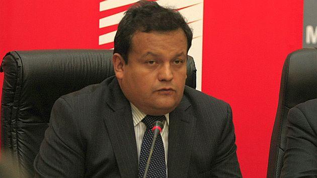 Urquizo dijo que ya cursó un oficio al JNE para corregir el error. (USI)