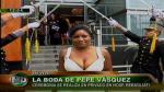 Pepe Vásquez se casó en el Rebagliati - Noticias de gabriela noriega