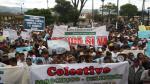 Cajamarca marchó por la paz y a favor de las inversiones - Noticias de cajamarca absalon vasquez