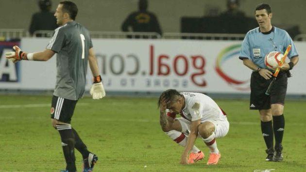 Paolo sienta la camiseta (y las derrotas) como nadie. (Alberto Orbegoso)