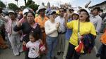 La 'Marcha de embarazadas' contra Conga fracasa en Cajamarca - Noticias de la encañada