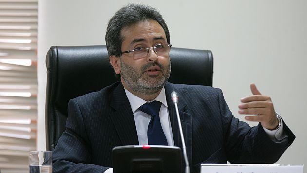 Ministro de Justicia, Juan Jiménez, anunció la medida. (Perú21)