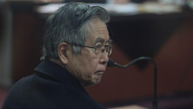 EN EVALUACIÓN. Ni la familia ni sus médicos se han pronunciado sobre la salud de Fujimori. (Martín Pauca)