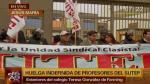 """Sutep: """"Del Gobierno depende que huelga no se alargue"""" - Noticias de huelga de profesores"""