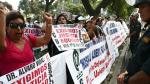 Trabajadores de Essalud realizaron plantón en Jesús María - Noticias de flavio rojas