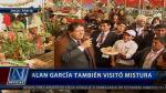 Alan García 'arrasó' con Mistura - Noticias de potajes