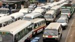 Paro de transportistas en Lima se acata de forma parcial - Noticias de asetum