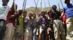 Nativos awajún liberan a los geólogos retenidos - Noticias de cruz aguila