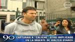 Capturan a 'Caliche', uno de los implicados en la muerte de Walter Oyarce - Noticias de alianza lima walter oyarce dominguez