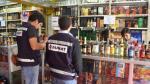 Incautan licores por S/.25 mil - Noticias de casillero del diablo