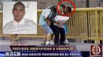 Identifican a barrista de Sporting Cristal que asaltó a peatones - Noticias de sporting cristal