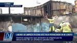 Explosión de pirotécnico habría ocasionado incendio en el Callao - Noticias de lewis mejia