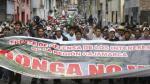 Cajamarca: Anuncian más protestas contra proyecto minero Conga desde enero - Noticias de jorge merino tafur