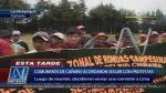 Cañaris: Comuneros enviarán comisión de diálogo a Lima, pero siguen con paro - Noticias de huancabamba
