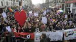Francia: Miles se manifiestan a favor del matrimonio gay - Noticias de jodie sweetin
